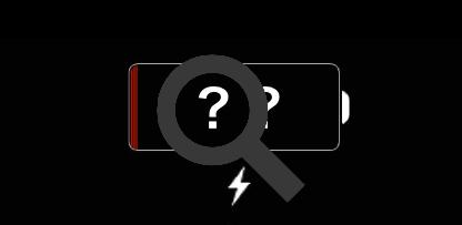 iPhoneの各アプリ電力消費の確認