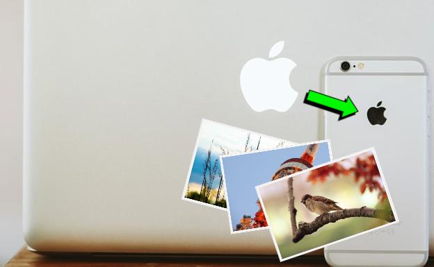 MacからiPhoneへ画像を転送