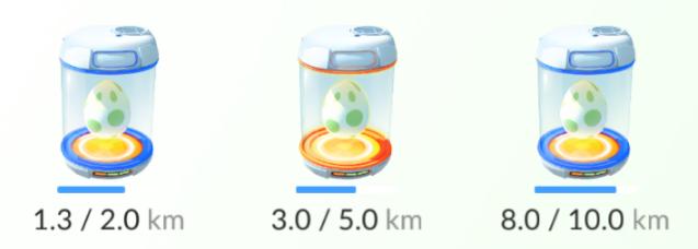 ポケモンGOタマゴの距離