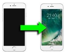 iOS10のロック画面手前に傾けてスリープ解除
