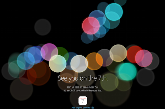 iPhone7発表目前