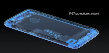 iPhone 7 の防水性能IP67