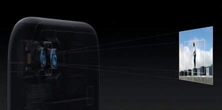 iPhone 7 plus望遠機能