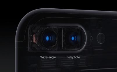 iPhone 7 Plus デュアルカメラ搭載