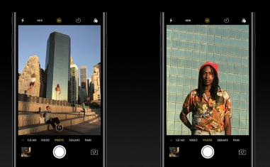 iPhone 7 plus ズーム機能