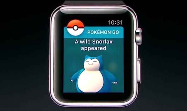 Apple Watch対応したポケモンGO