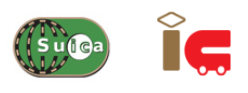 suicaとICのロゴ