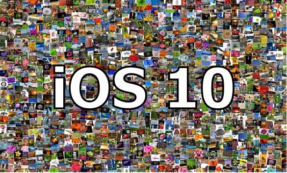 iOS10から搭載された写真サーチ機能