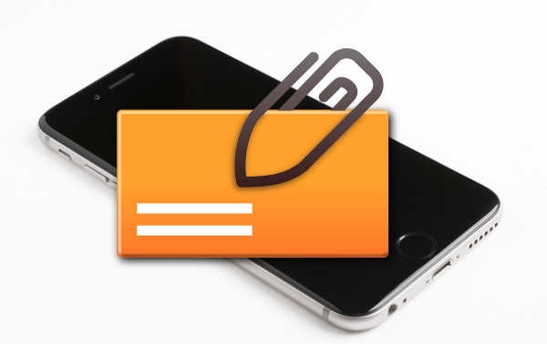 iPhoneのメールで画像やビデオを添付して送信する方法