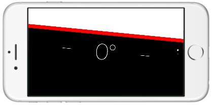 iPhone水平器の使い方