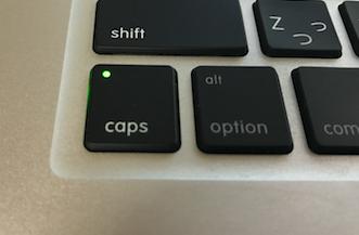 CapsLock(キャプスロック)