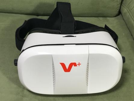 VOX+ 3DVR ゴーグルの重さ