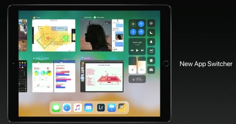 iPad iOS11 新機能 Multitasking New App Switcher