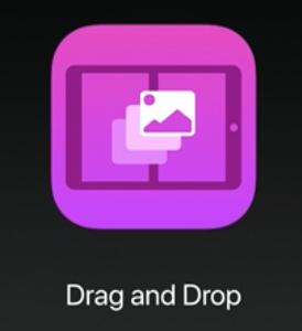 iPad iOS11 新機能 Drag and Drop(ドラッグ&ドロップ)