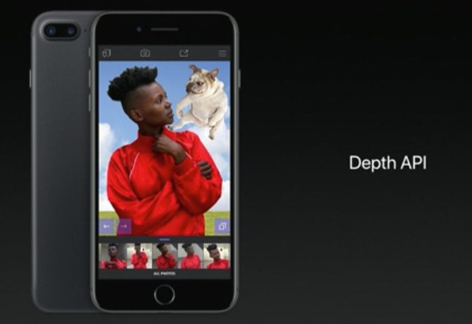 iOS11「Depth API」