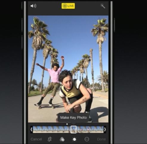 iOS11 Live Photos フレームから好きな写真を選択