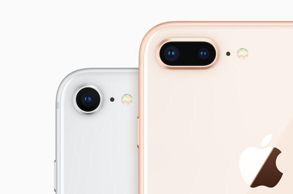 iPhone 8 と iPhone 8 Plus カメラの基本機能・性能