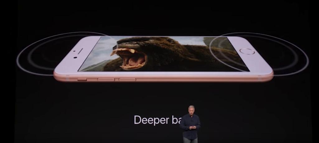 iPhoneX、8/8Plus スピーカー