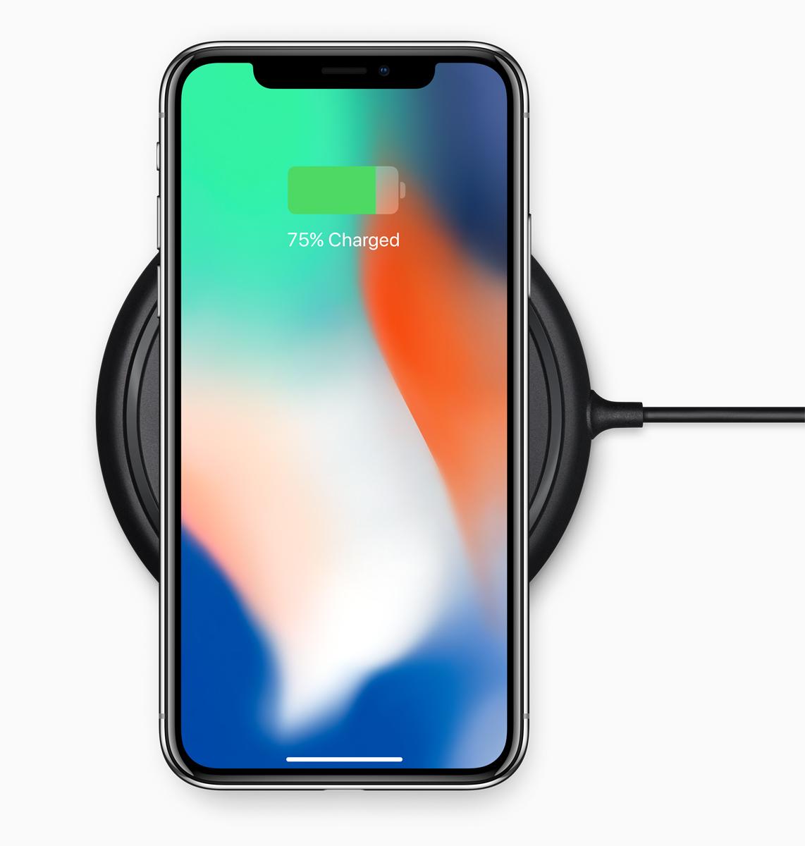 アイフォンXワイヤレス充電