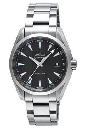 OMEGA 腕時計 シーマスターアクアテラ グレー文字盤 150M防水