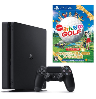 PlayStation 4 ジェット・ブラック 500GB