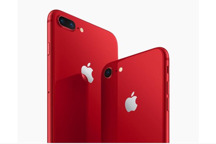 赤いiPhone