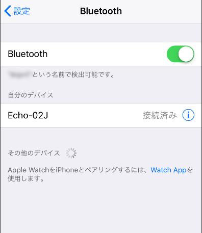 iphone側ペアリング設定手順3