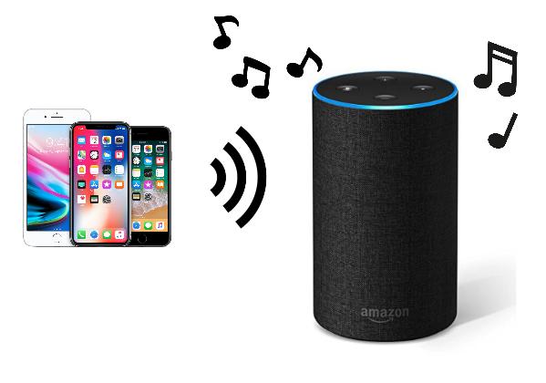 iPhoneとEchoをペアリング接続してスピーカーとして使う方法
