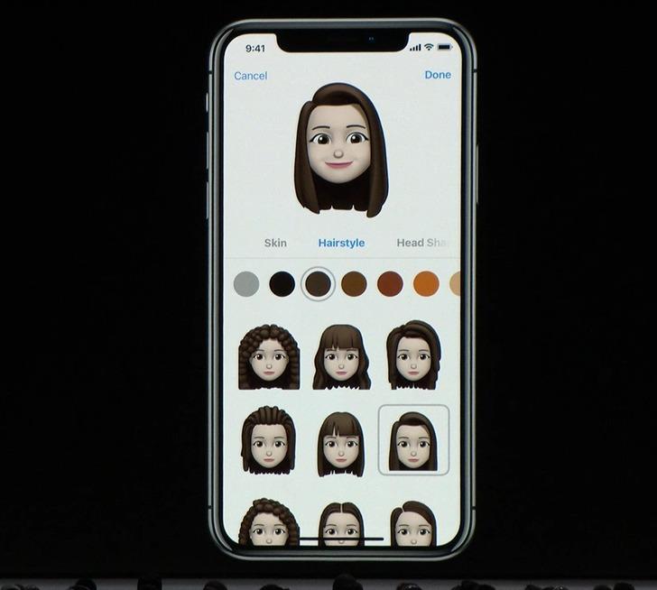 iOS12 ミモジ