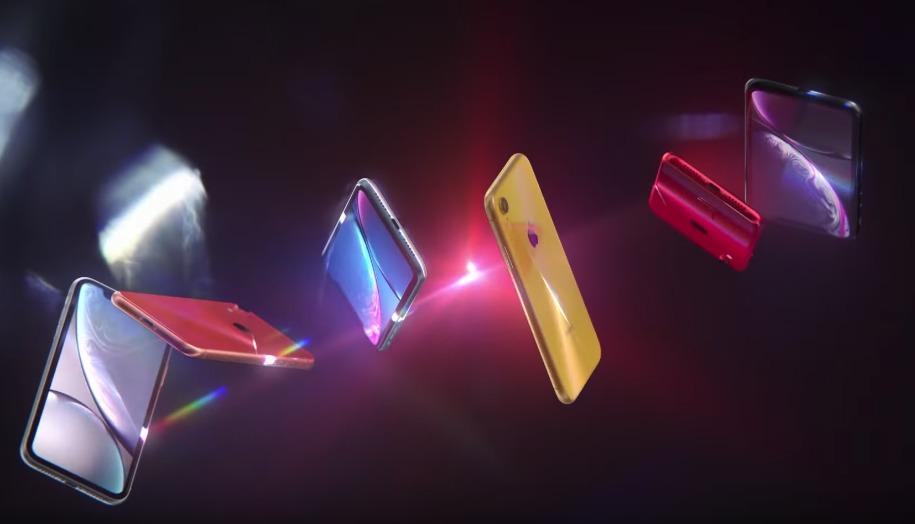 iPhone XR カラーバリエーション6色