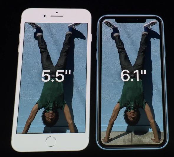 iPhone XR 大きさ