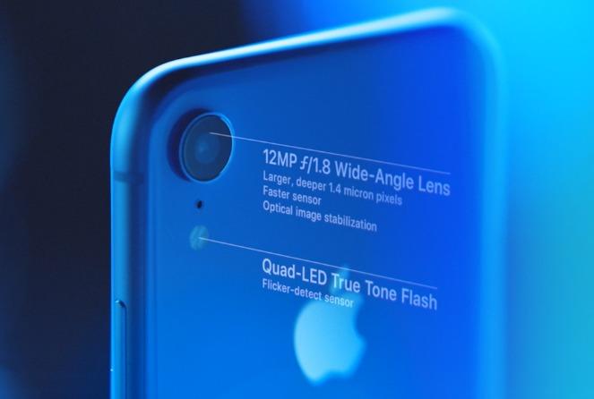iPhone XRのカメラ機能および性能