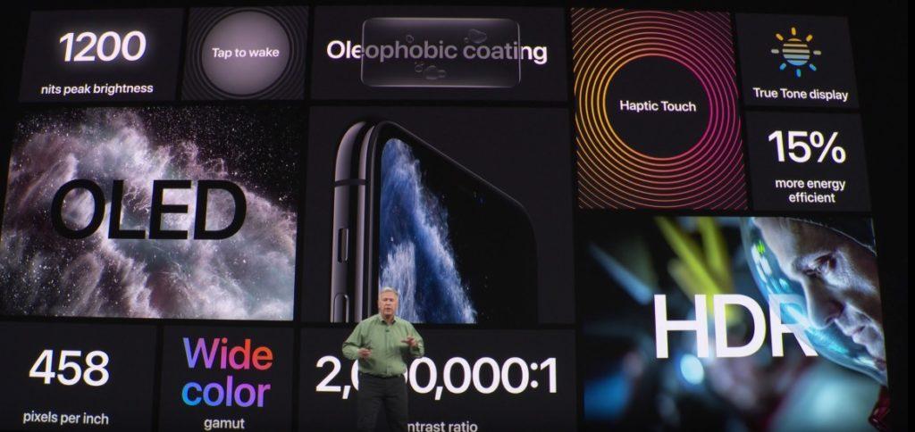 アイフォン11の画面比較