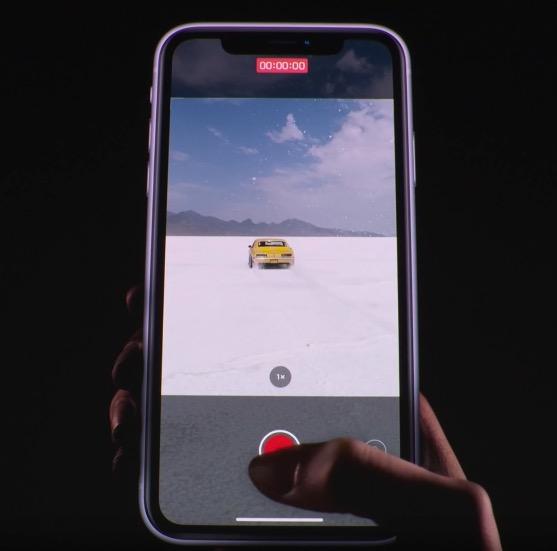 アイフォン11新機能のクイックテイク