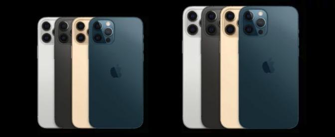 iPhone 12 Pro、Pro Max 色