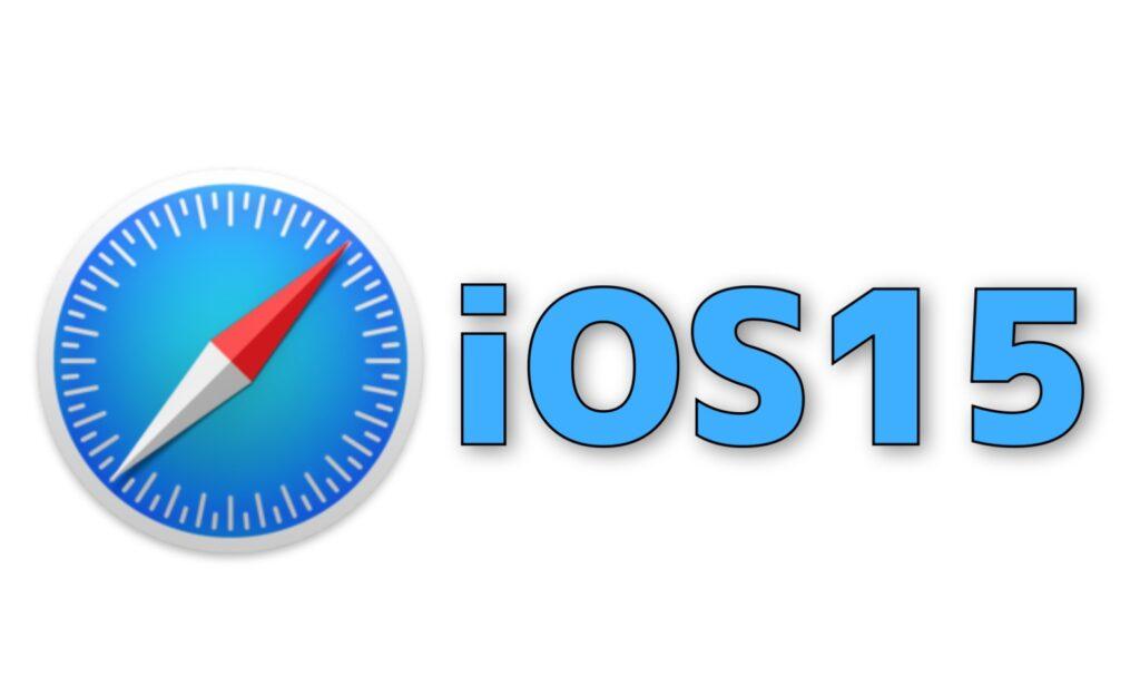 iOS15 Safari で画面下へ変更のアドレスバーを上部へ瞬時に戻す方法