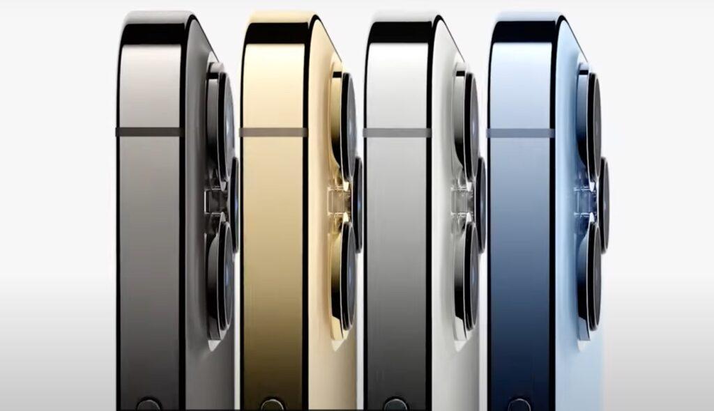 iPhone 13 Pro と Pro Max のカラーバリエーション